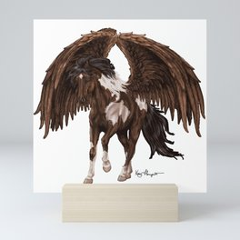 Paint Pegasus (Horse Lovers) Mini Art Print