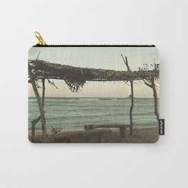 At the beach life is better Carry-All Pouch