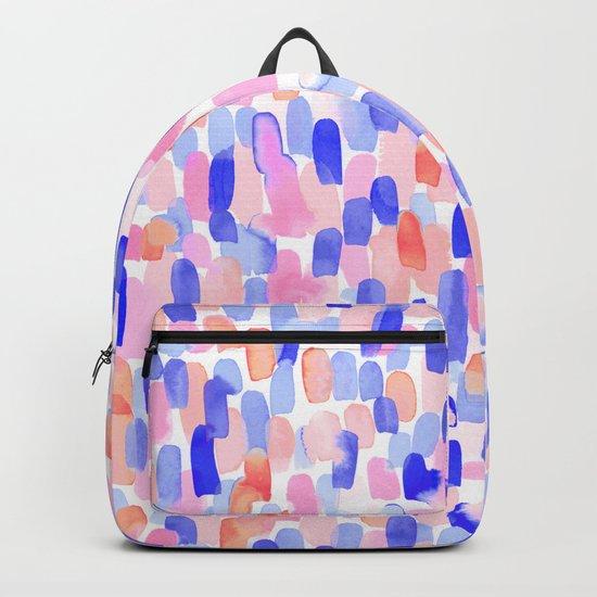 Delight Blue Orange Backpack