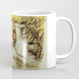 Tiger in free Wilderness Coffee Mug