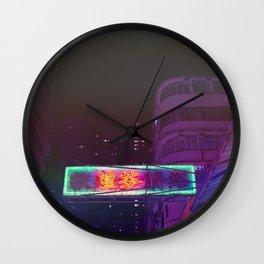 Hongkong Signs X Wall Clock