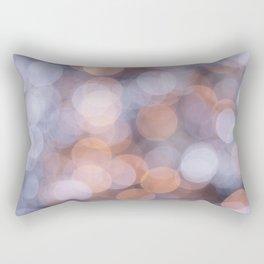 Blurred Soft Lights Rectangular Pillow
