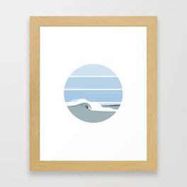 Surfer's Glory Day Framed Art Print