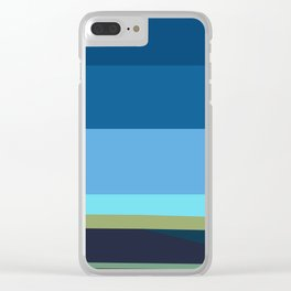 Santa Monica Horizon 0203 Clear iPhone Case