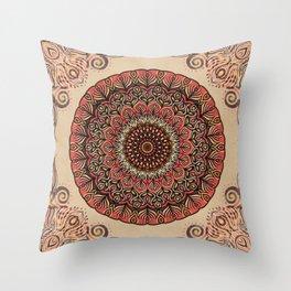 Solaris Mandala Throw Pillow