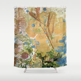 Desert Flowers Shower Curtain