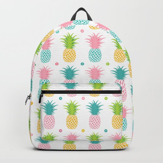 AFE Pineapple Pattern Backpack