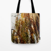 birch Tote Bags featuring Birch by TakaTuka Photo