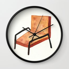 LEATHER CHAIR Wall Clock