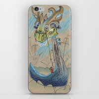 DRAGON BOAT iPhone & iPod Skin