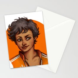The foxes Stationery Cards