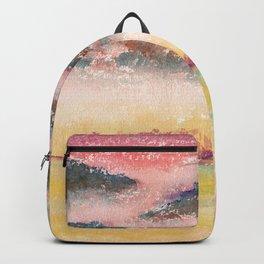 Ethereal Landscape Watercolor Illustration Backpack