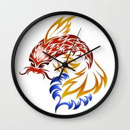 Jumping Koi Wall Clock