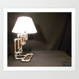 Articulated Desk Lamps - Copper and Chrome Collection - FredPereiraStudios_Page_08 Art Print