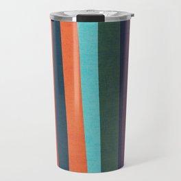 Mid-century zebra Travel Mug