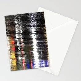 rainy night in victorville Stationery Cards