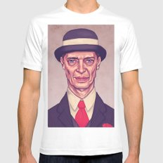 Nucky Thompson White MEDIUM Mens Fitted Tee