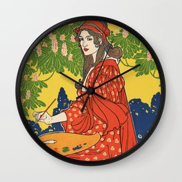 The Quartier Latin: A Magazine Devoted to the Arts Wall Clock