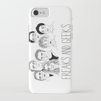cactei iPhone & iPod Cases featuring Freaks and Geeks by ☿ cactei ☿
