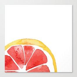 Red Citrus Canvas Print