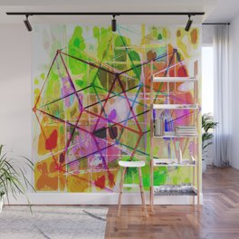 Two Tesseracts Wall Mural