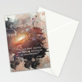 Do Not Feel Lonely Stationery Cards