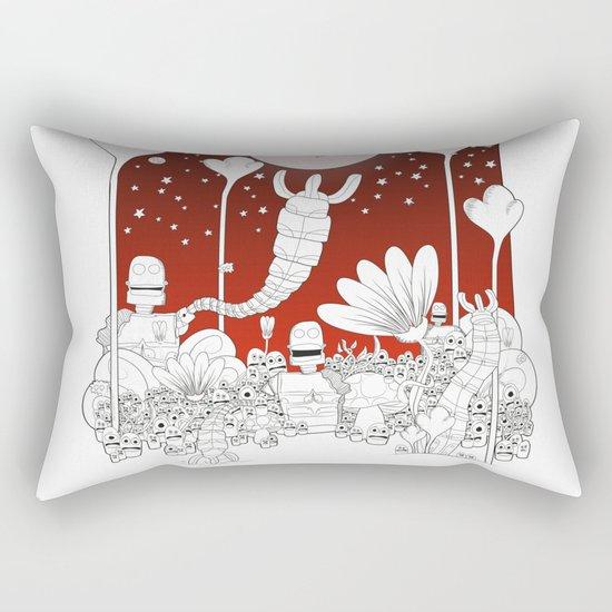 Invasion Rectangular Pillow