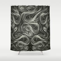 portal Shower Curtains featuring Portal I. by Dr. Lukas Brezak