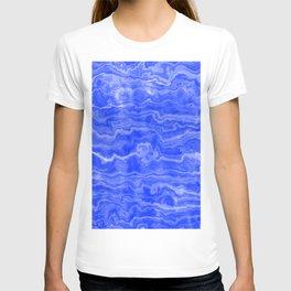 Egyptian Marble, Lapis Blue T-shirt