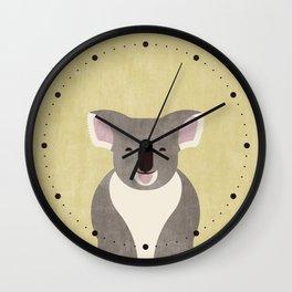 FAUNA / Koala Bear Wall Clock