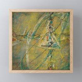 Ever Going Abstract Framed Mini Art Print