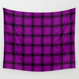 Large Purple Violet Weave Wall Tapestry