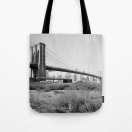 Brooklyn Bridge Photograph - 2 Tote Bag