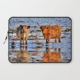 Sarah & Hamish - Highland Cattle Laptop Sleeve