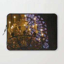 Notre Dame Paris Chandelier Laptop Sleeve