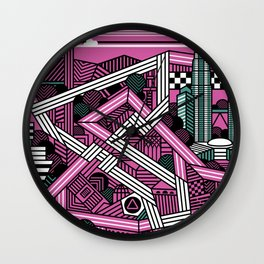 KL city grand prix Wall Clock