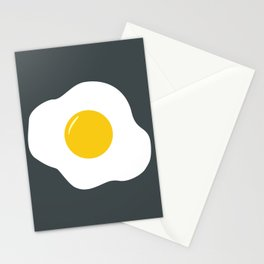 Easter Egg (gray) Stationery Cards