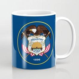 Utah State Flag - Authentic version Coffee Mug