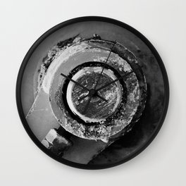 Industrial Abstract Study Wall Clock