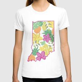 Floral Indy T-shirt