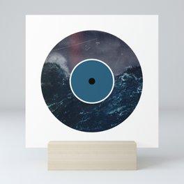 Vinyl Record Art & Design | Stormy Ocean Mini Art Print