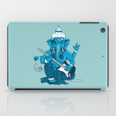 Ganesha rocks ! (v3) iPad Case