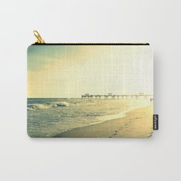 Couple on the Beach Carry-All Pouch