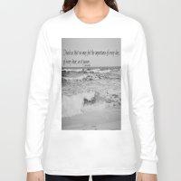 jane austen Long Sleeve T-shirts featuring Jane Austen Every Day by KimberosePhotography