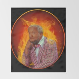 FireFox Throw Blanket