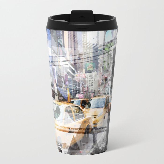 New York City | Geometric Mix No. 9 Travel Mug