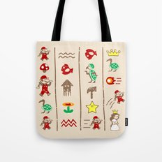 The Legend of Mario Tote Bag