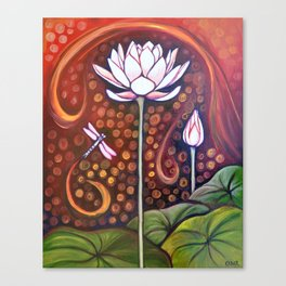 Glow Within Canvas Print