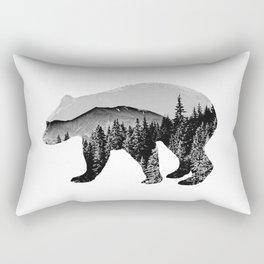 mountain bear Rectangular Pillow