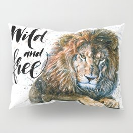 Lion 3 Wild and Free Pillow Sham